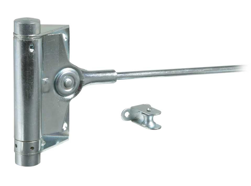 Пружинный доводчик двери