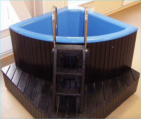 Как сделать бассейн в бане своими руками – возможные варианты