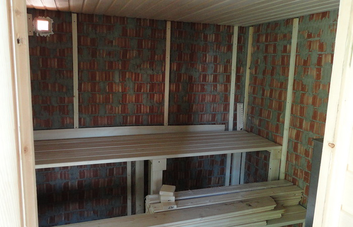 Отделка бани вагонкой внутри своими руками (59 фото): с чего начать обшивку, как обшить пол, стены и потолок