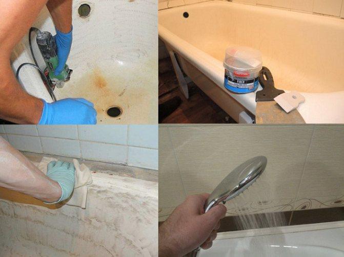 Реставрация старой ванны: мифы и реальность   строительный блог вити петрова