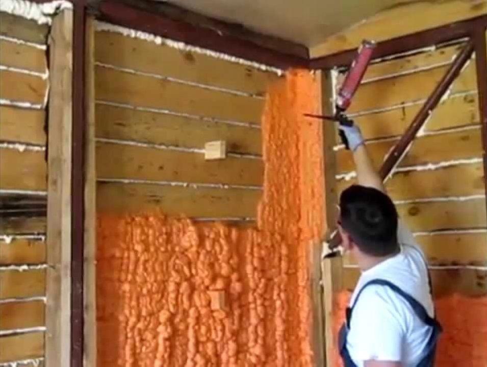 Выбор пены для утепления стен