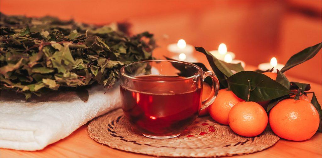 Чай для бани [травяной]: какой лучше пить и как приготовить самому?