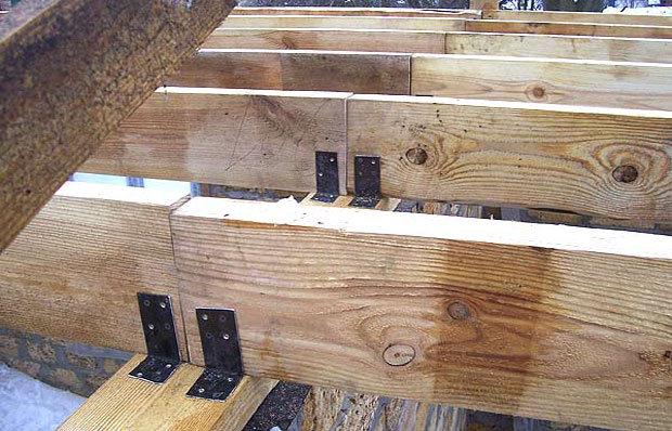 Нюансы и правила установки стропил крыши на балки перекрытия