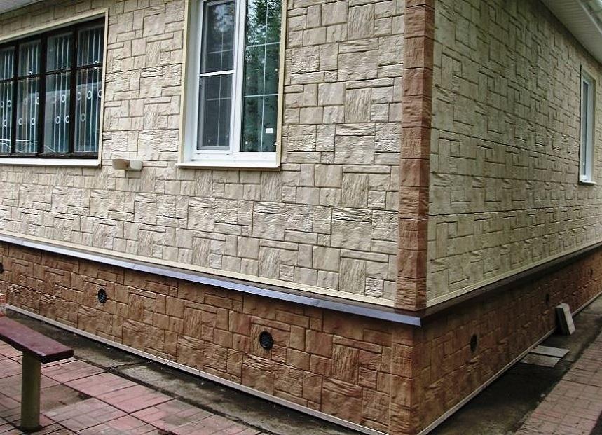 Цокольный сайдинг (50 фото): размеры сайдинга для цоколя и фундамента, металлическая продукция для домов nailite