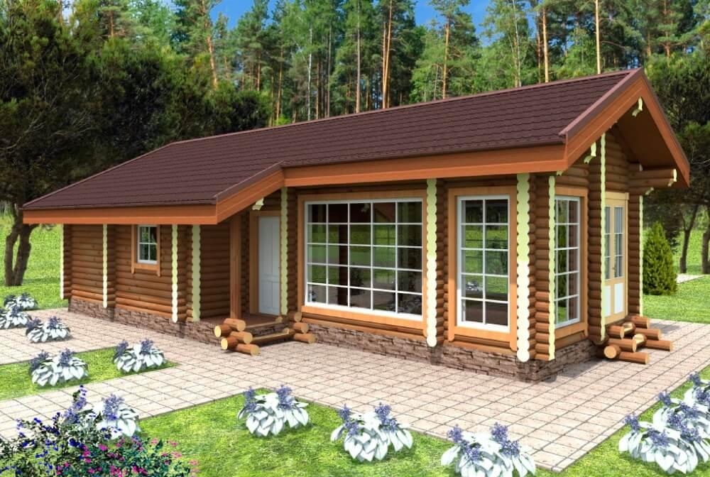 Баня-гостевой домик: разбираем особенности строительства на 5-ти уже реализованных проектах