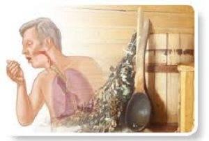 Особенности похода в баню при развитии ангины