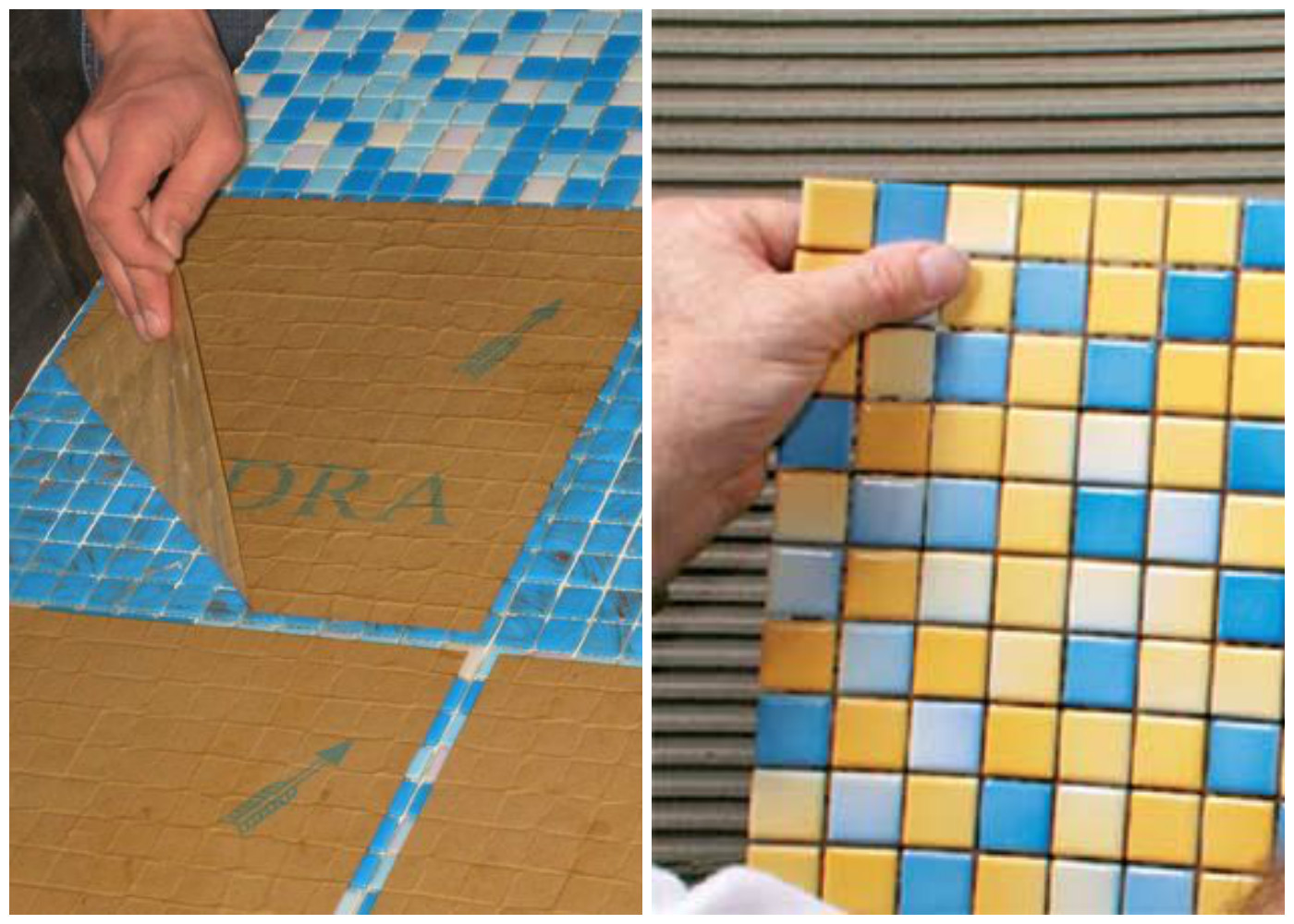 Укладка мозаики: технология и нюансы работ | строй советы