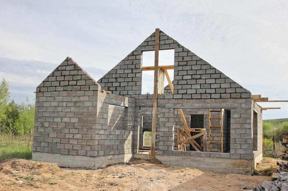 Бани из керамзитобетонных блоков (60 фото): проекты, плюсы и минусы, пошаговая инструкция строительства бани из керамзитоблоков своими руками