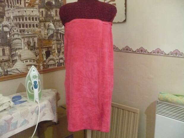 Килт: банное полотенце с липучкой