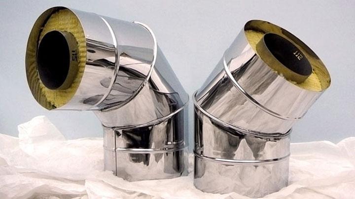 Сэндвич дымоход из нержавеющей стали – особенности материалов, конструкции и рекомендации по сборке