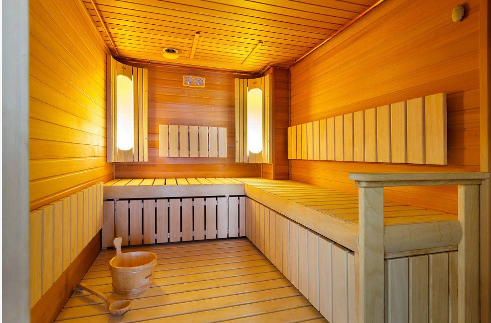 Внутренняя отделка бани своими руками - технология работ