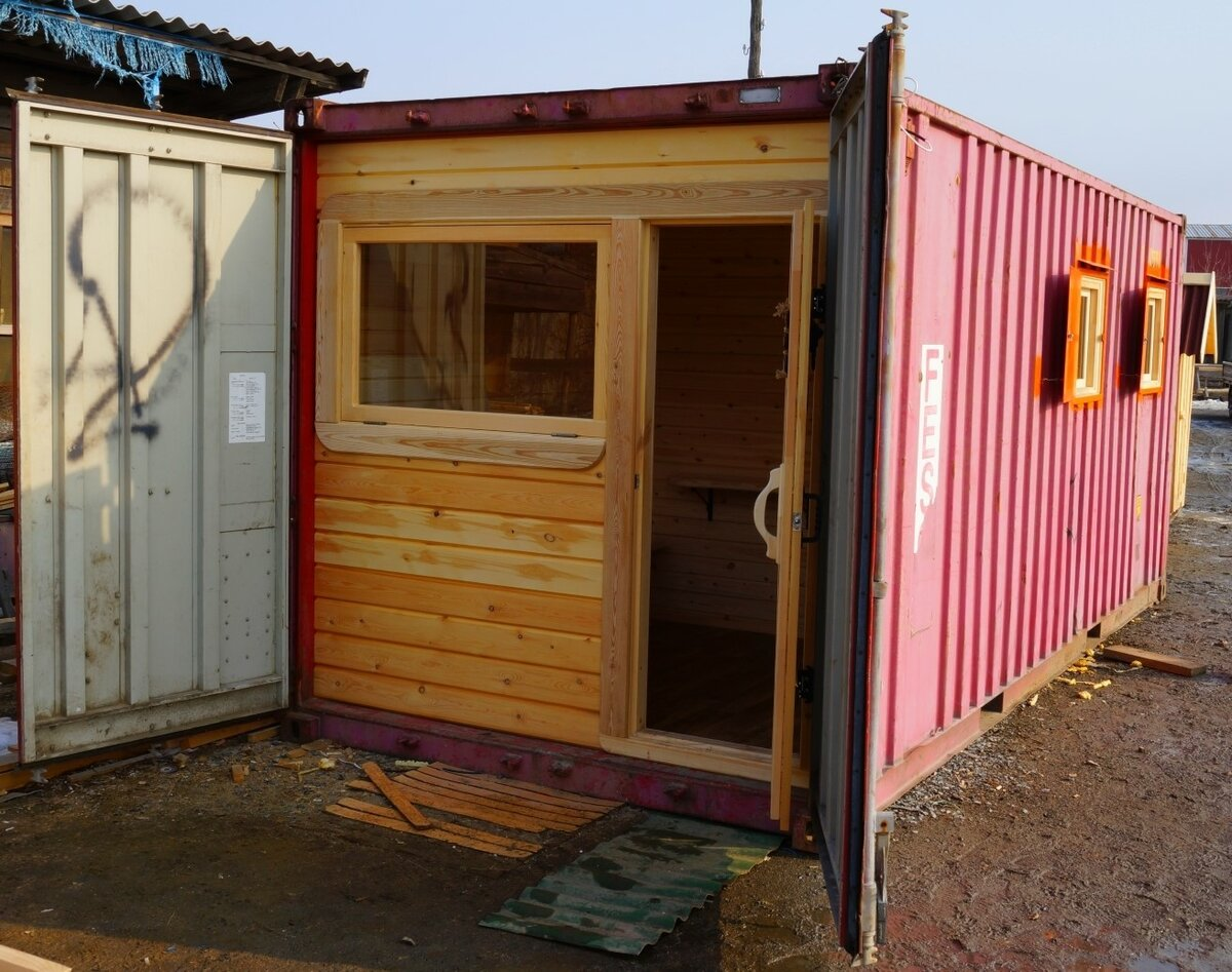 Дом из морского контейнера: плюсы и минусы готовые проекты, варианты планировок