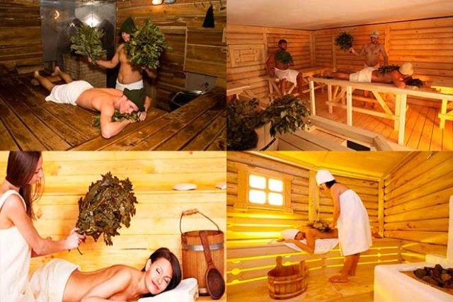 Особенности посещения бани в линзах