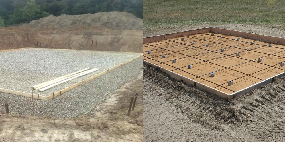 Песчаная подушка под фундамент: как выбрать песок и уложить его