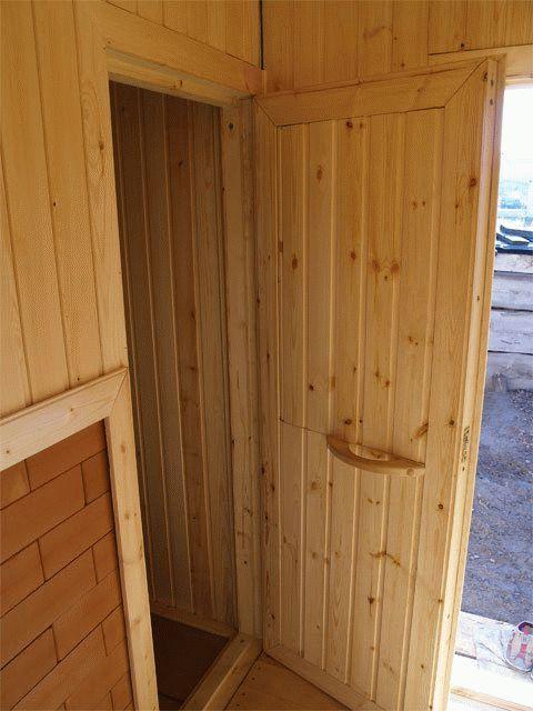 Инструкция по установке двери в бане