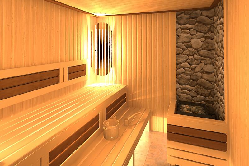 Обустройство парилки в бане: отделка и обшивка стен