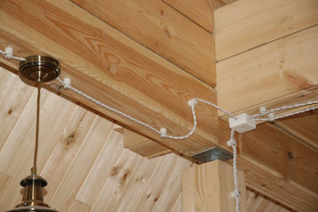 Правила монтажа электропроводки в бане: как правильно сделать электропроводку в бане своими руками