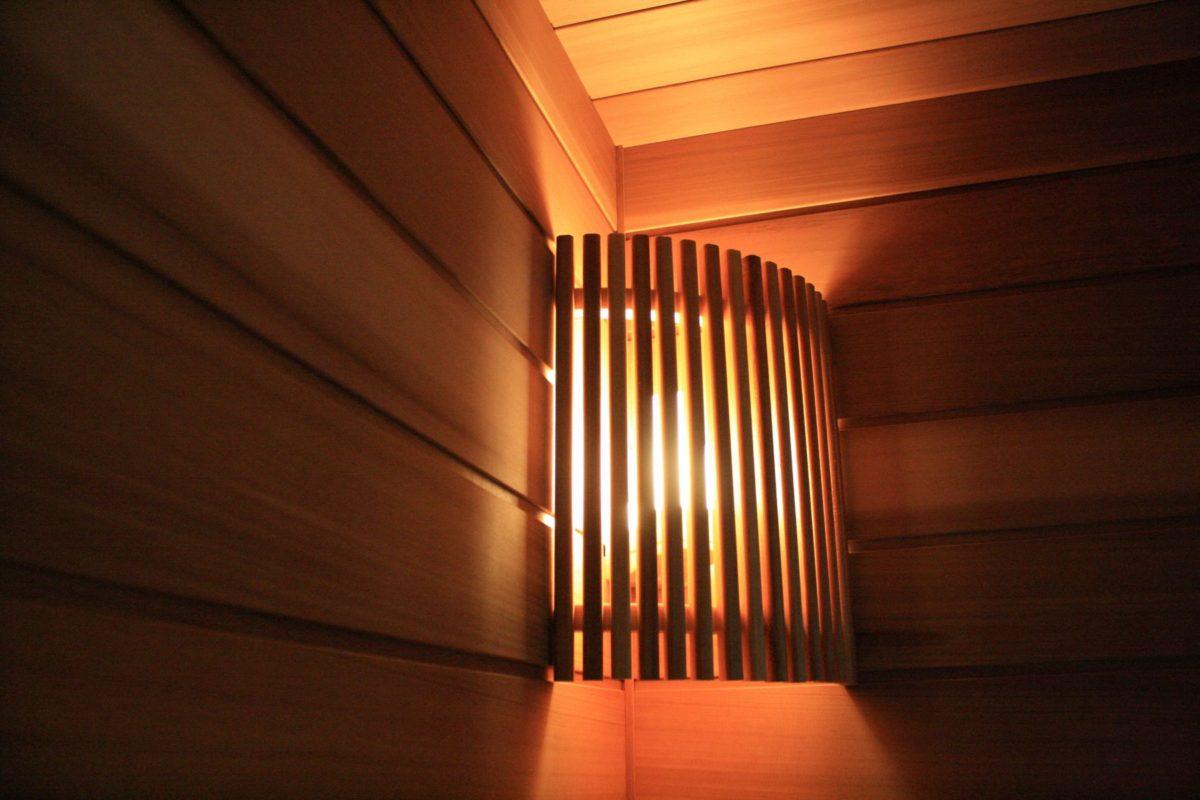 Светильники для бани: разновидности и особенности выбора