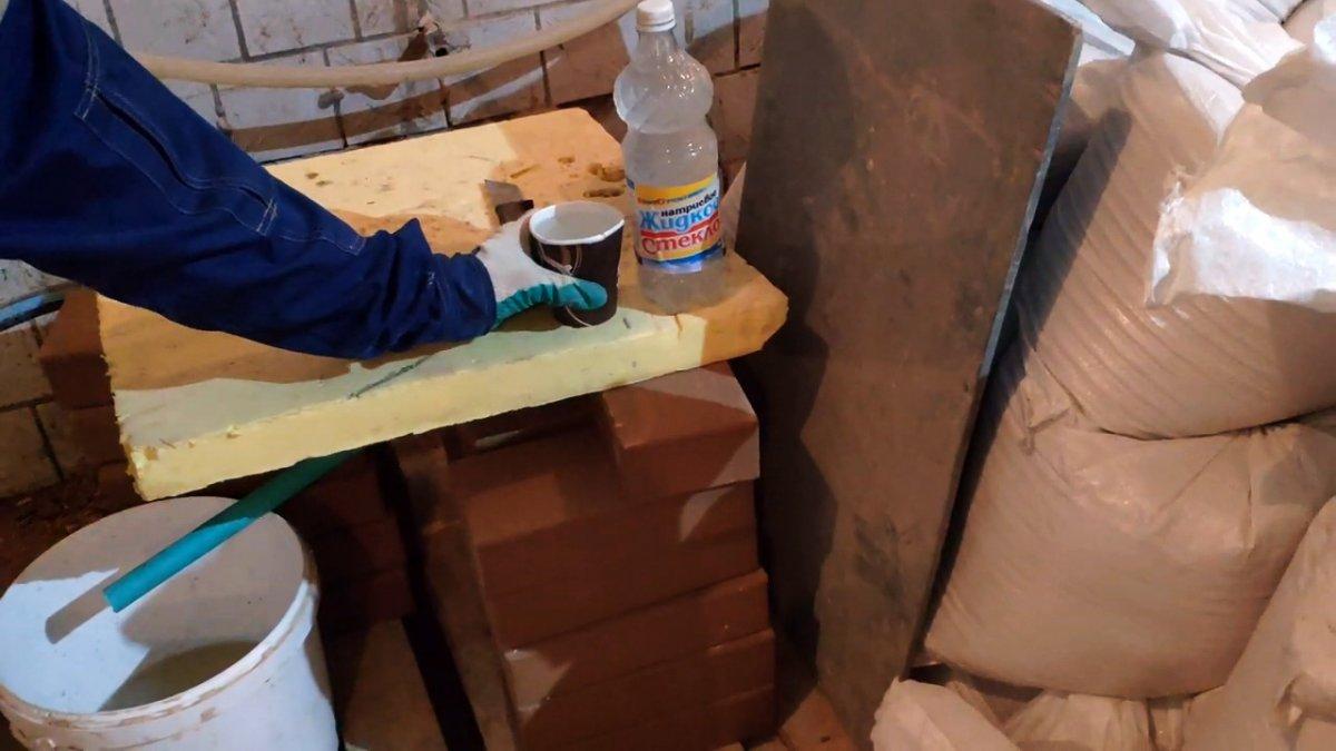 Раствор для печи глина и песок пропорции: инструменты и материалы, смеси