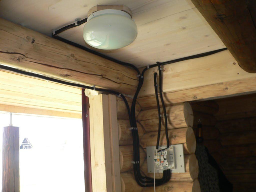 Проводка в бане: 80 фото безопасного монтажа и подключения электропроводки
