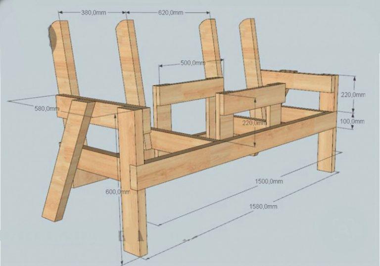 Скамейка для бани своими руками | «блог башэкострой»
