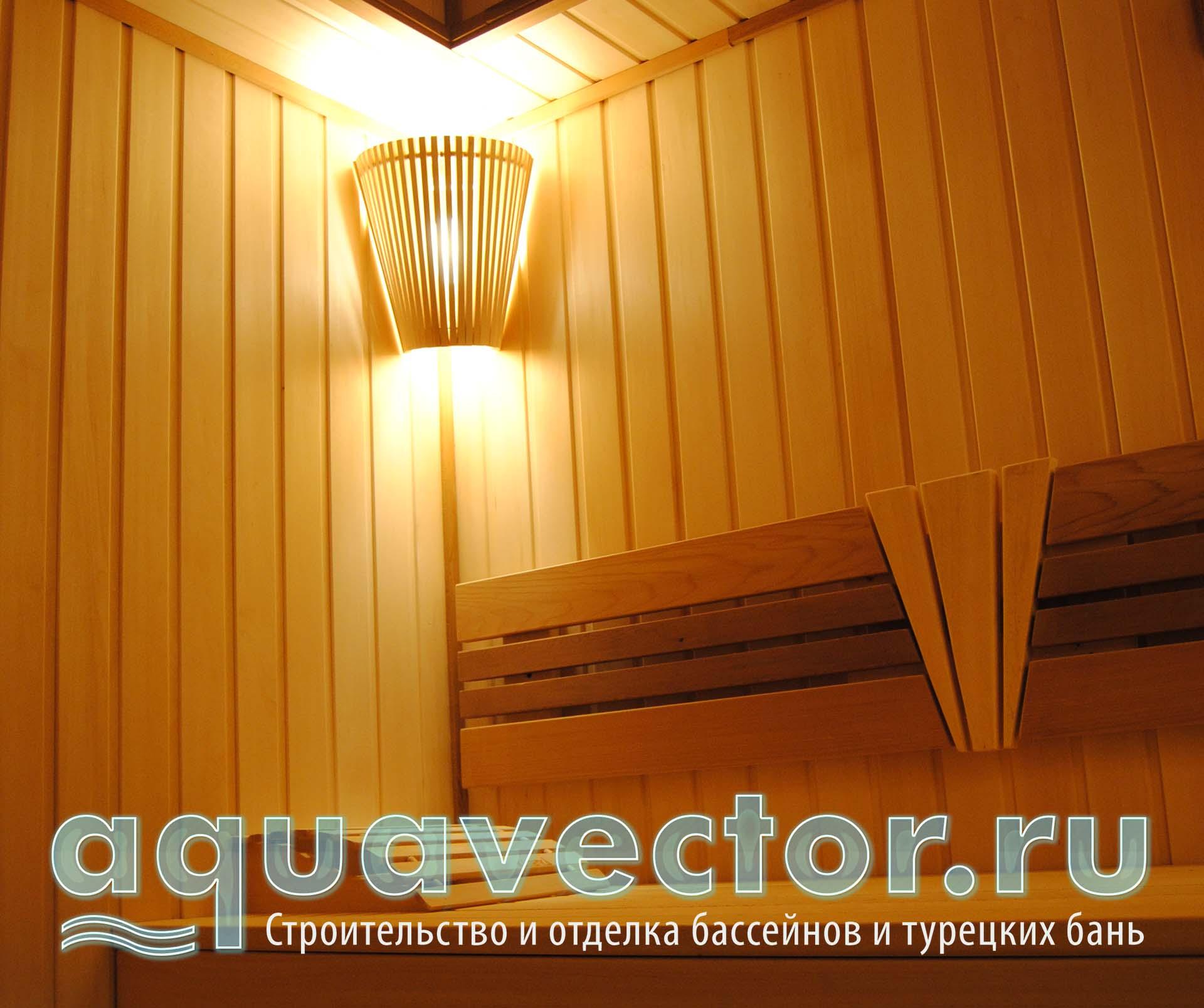 Светильники для бани: выбор и установка