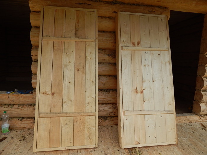 Дверь в парную: выбираем из готовых вариантов или делаем своими руками