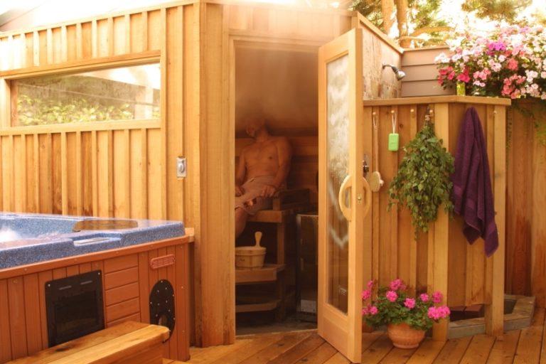 Летняя баня на даче своими руками: как сделать
