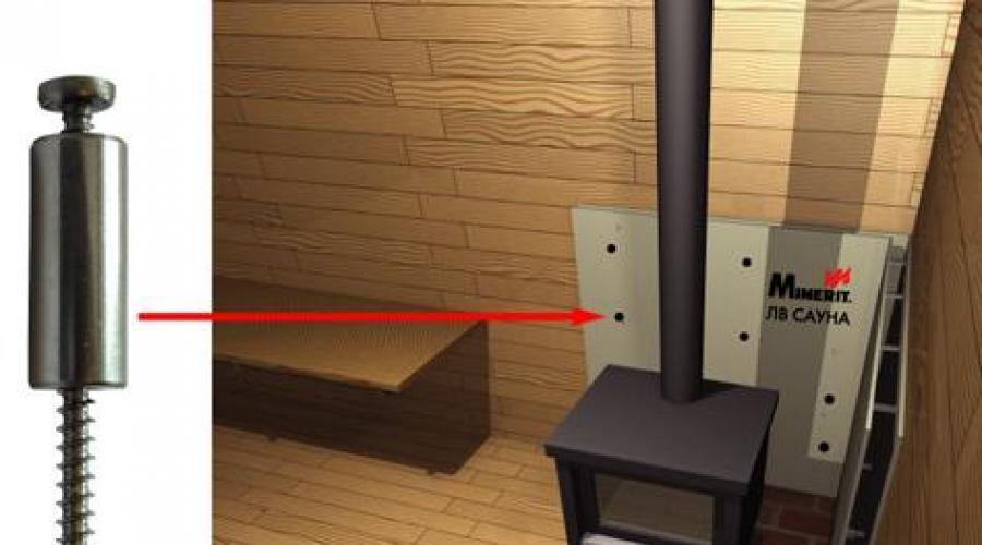 Защита стен в бане от печки - строим баню или сауну
