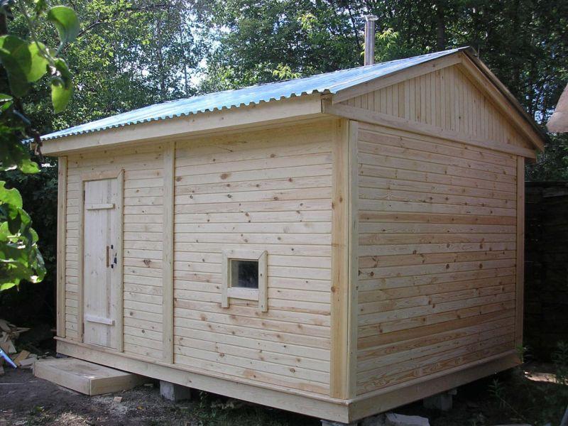 Из чего построить баню недорого и качественно