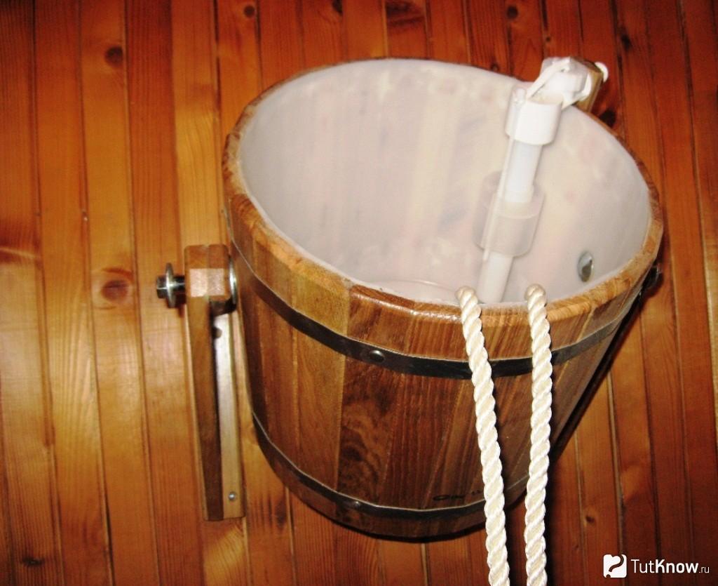 Обливное устройство для бани: как сделать правильно?