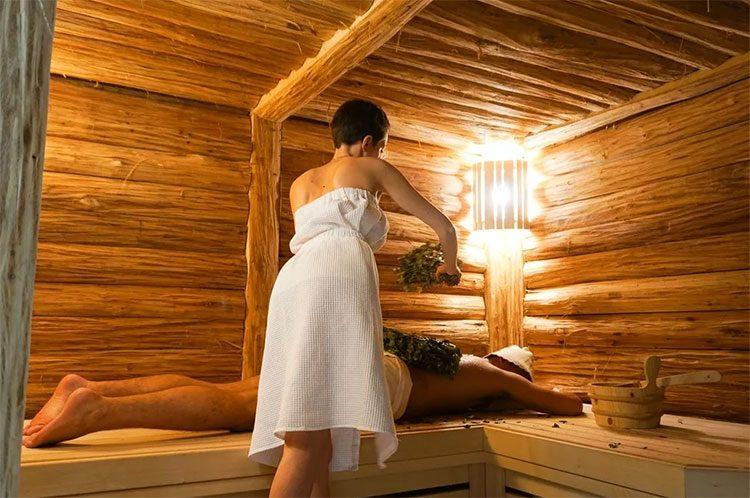 Массаж в условиях бани. всё про массаж