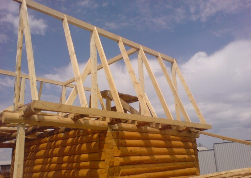 Как сделать крышу на бане своими руками: конструкция + видео