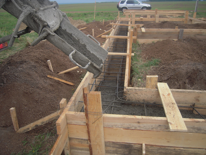Как залить фундамент под баню правильно? описание всех этапов работ