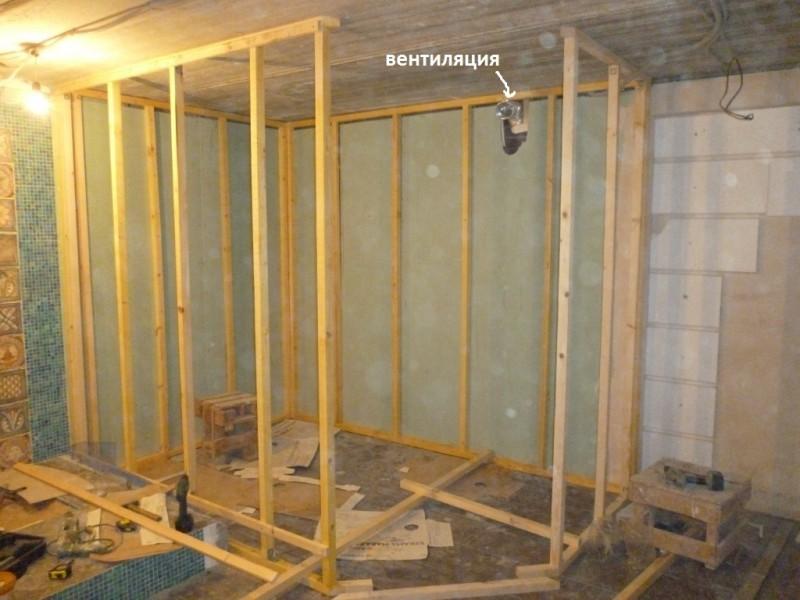 Баня в гараже своими руками, как сделать сауну, как построить баню из железного гаража