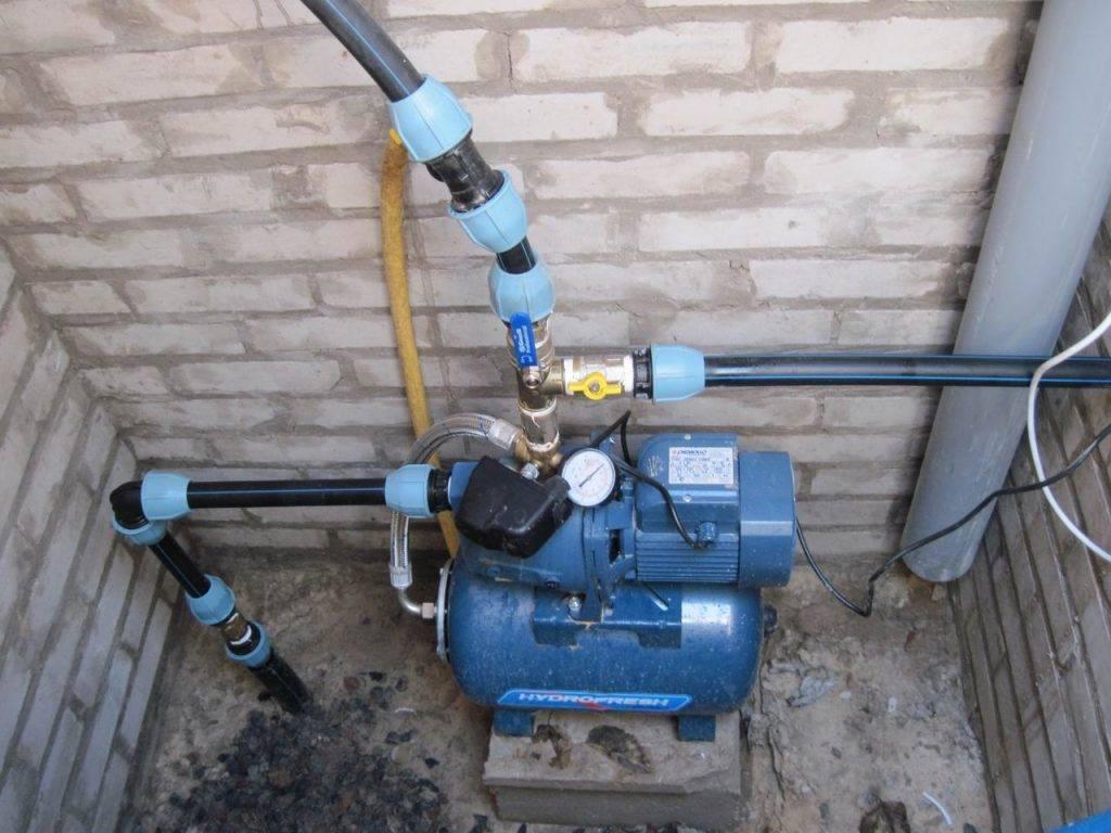 Как выбрать автоматическую насосную станцию для системы водоснабжения