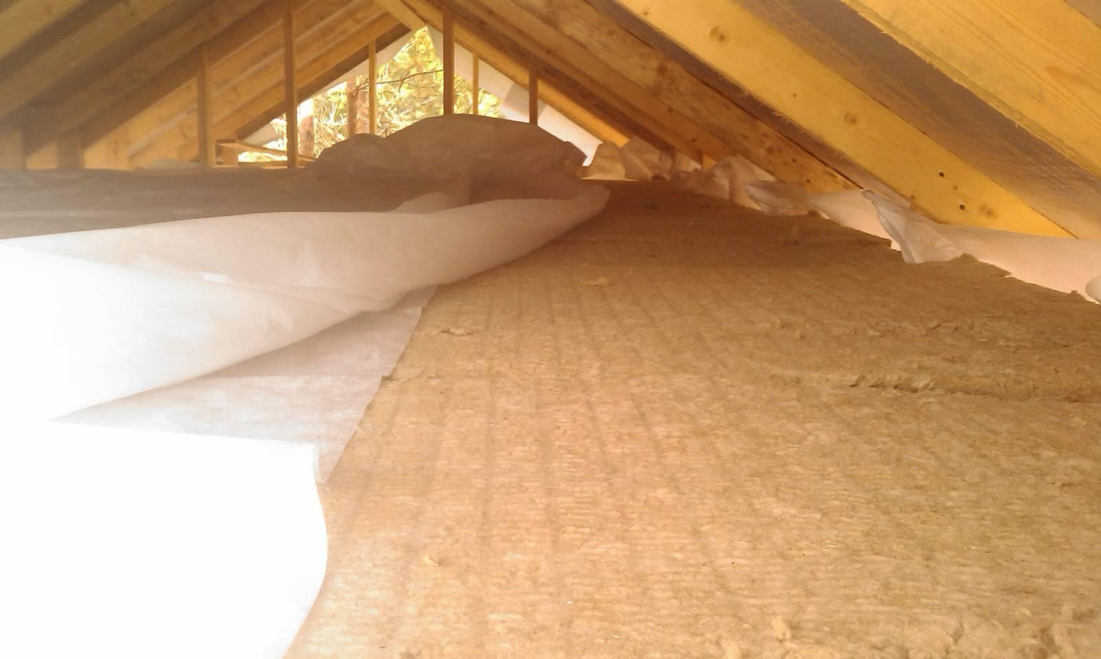 Утепление потолка в доме с холодной крышей: материалы и способы реализации | гид по отоплению