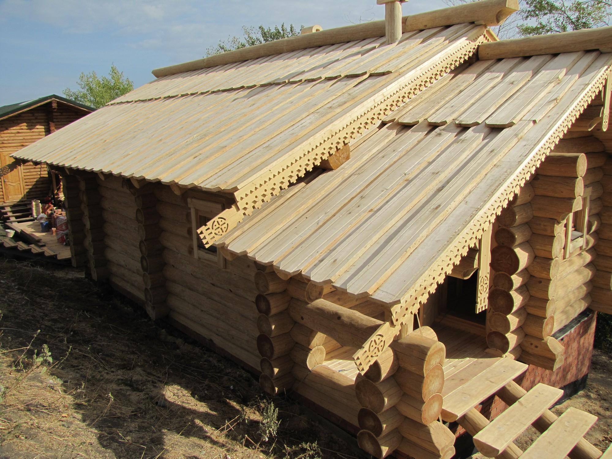 Банная кровля: чем лучше покрыть крышу бани, монтаж конструкции кровли для бани