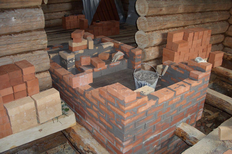 Кирпичная печь для бани (83 фото): проекты и чертежи дровяной печки из кирпича, изготовление своими руками, какая лучше - железная или кирпичная