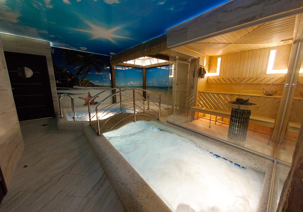 Сауны с большим бассейном москва