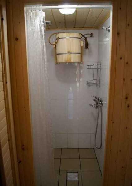 Как правильно сделать душ в бане собственными силами