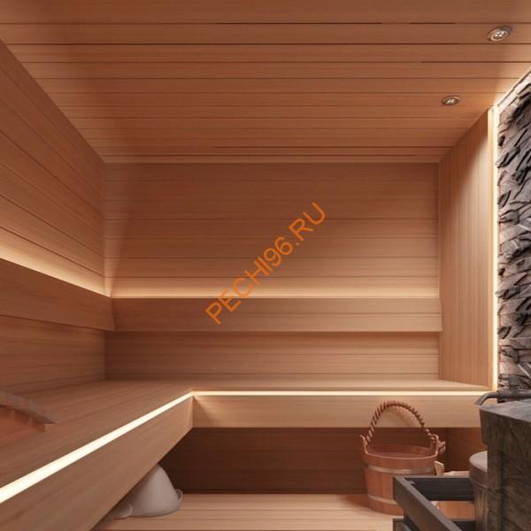 Вагонка для бани из осины – свойства и монтаж