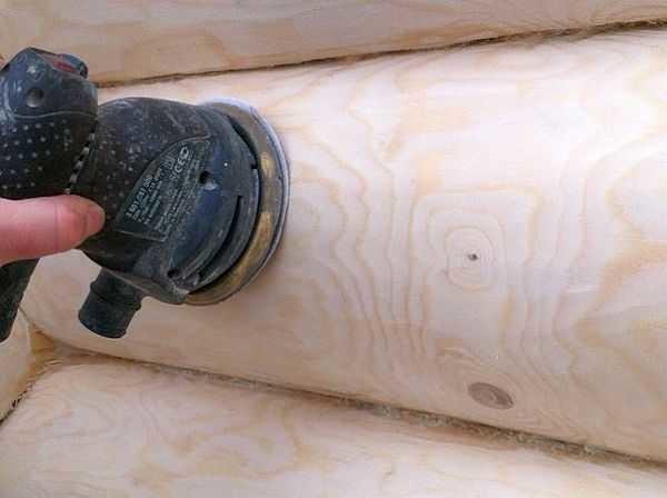 Шлифовка сруба своими руками: пошаговая инструкция и рекомендации
