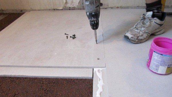 Как стелить гвл на деревянный пол, а так же двп, дсп и цсп