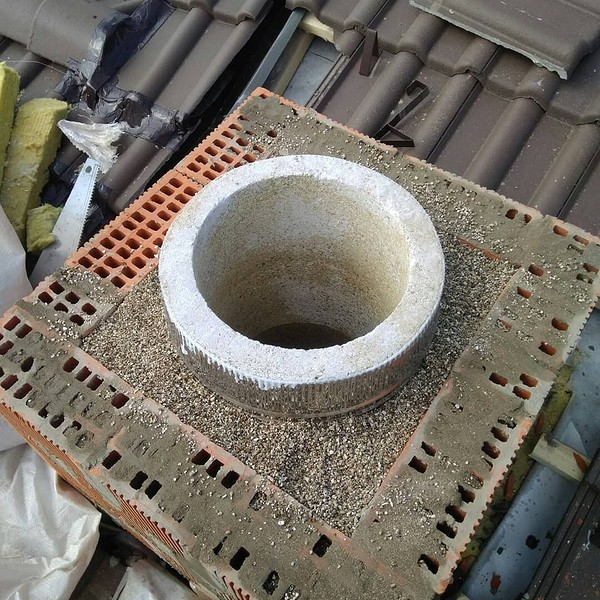 Гильзование кирпичного дымохода: конструкция, принцип работы