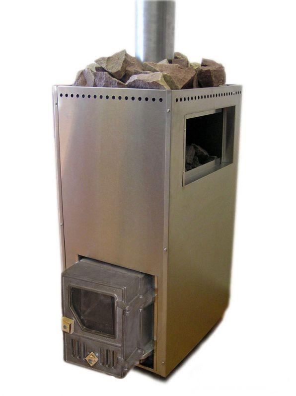 Чугунная печь для бани: установка банной русской модели из чугуна с баком для воды, выносной топкой, как установить теплообменник