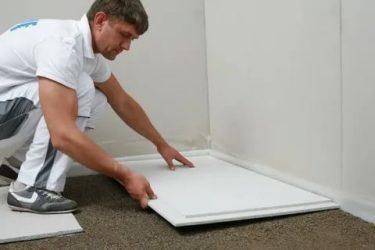 Укладка плитки на гвл пол