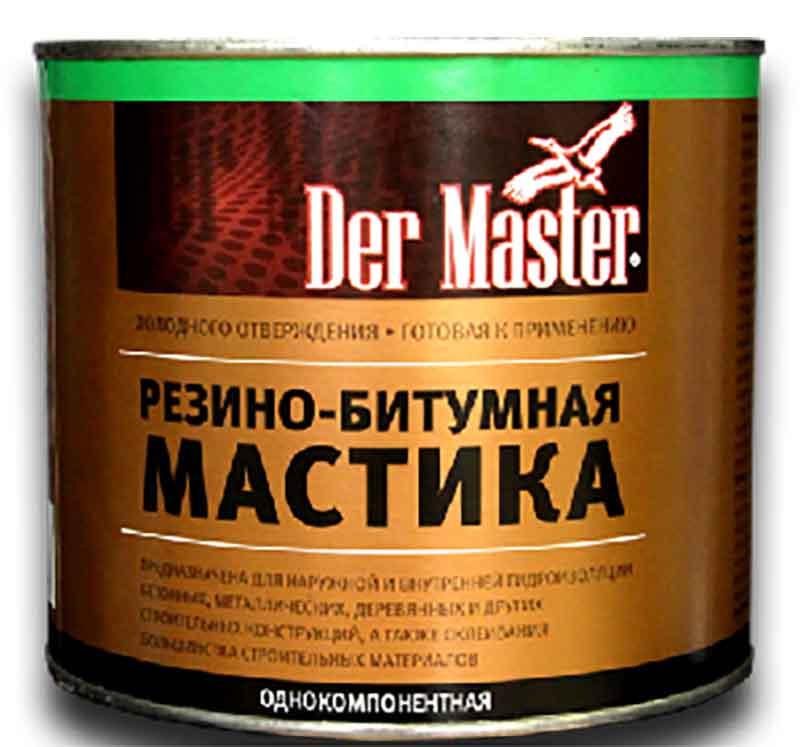Как правильно наносить резино битумную мастику