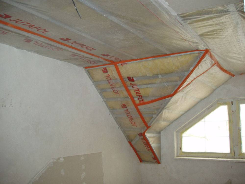 Пароизоляционная пленка для потолка бани способы и материалы пароизоляции и гидроизоляции - фольга, изоспан и другие материалы