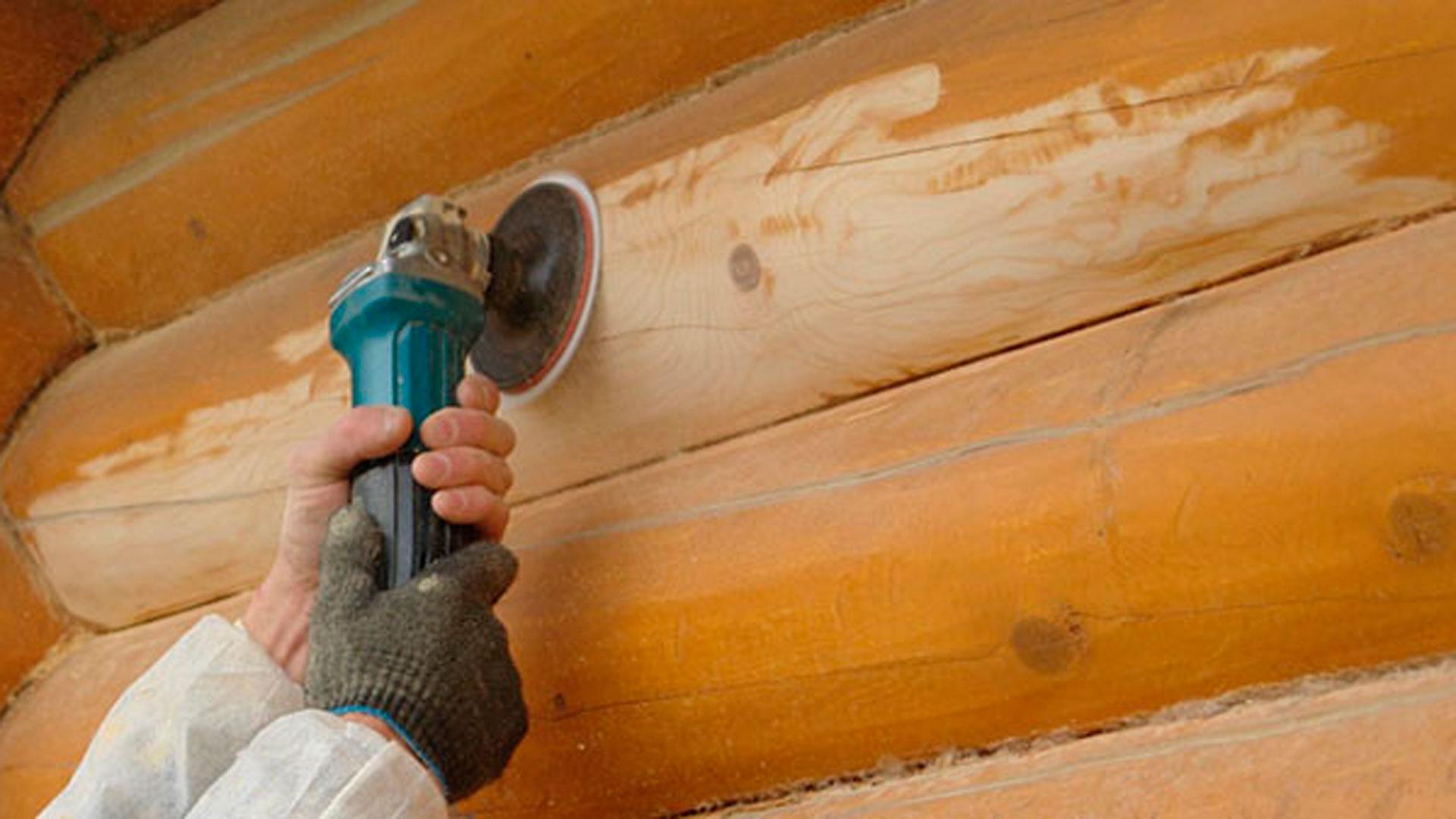 Чем и как отшлифовать дом из бруса своими руками: инструменты, описание шлифовки
